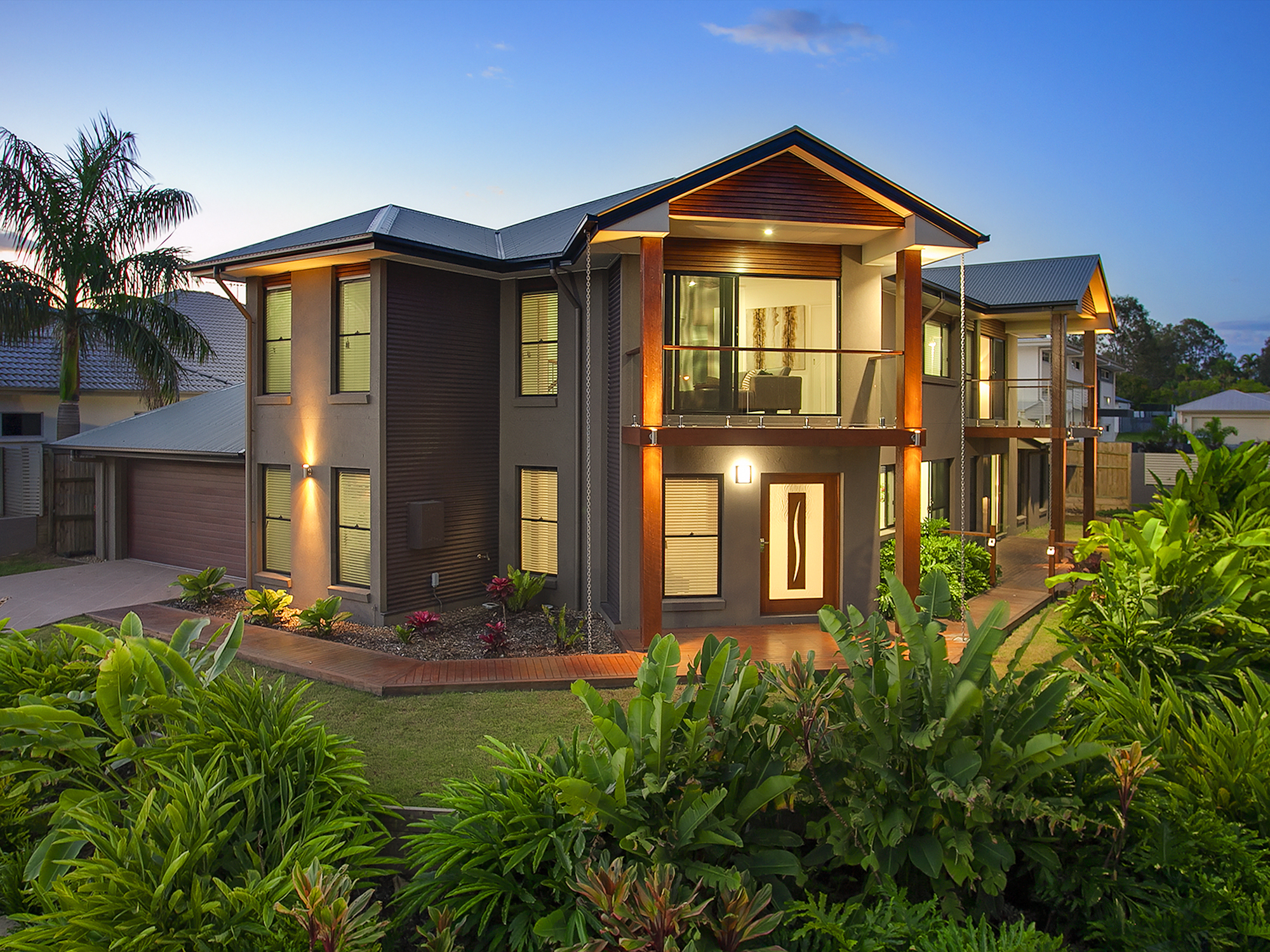 Recently sold kelrow constructions pty ltd for Corner block home designs